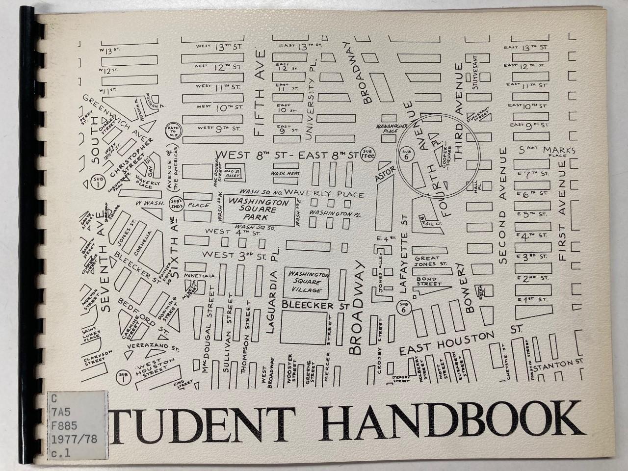 student handbook 1978