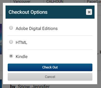 eBook format options after checkout in FVRL catalog