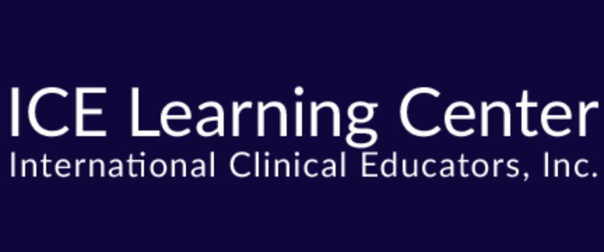 ICE (International Clinical Educators, Inc.) Learning Center logo
