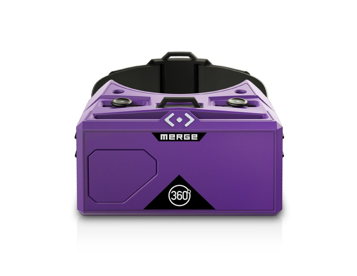 Merge Virtual Reality Goggles-Purple
