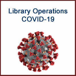 Library Operations during COVID-10 pandemic