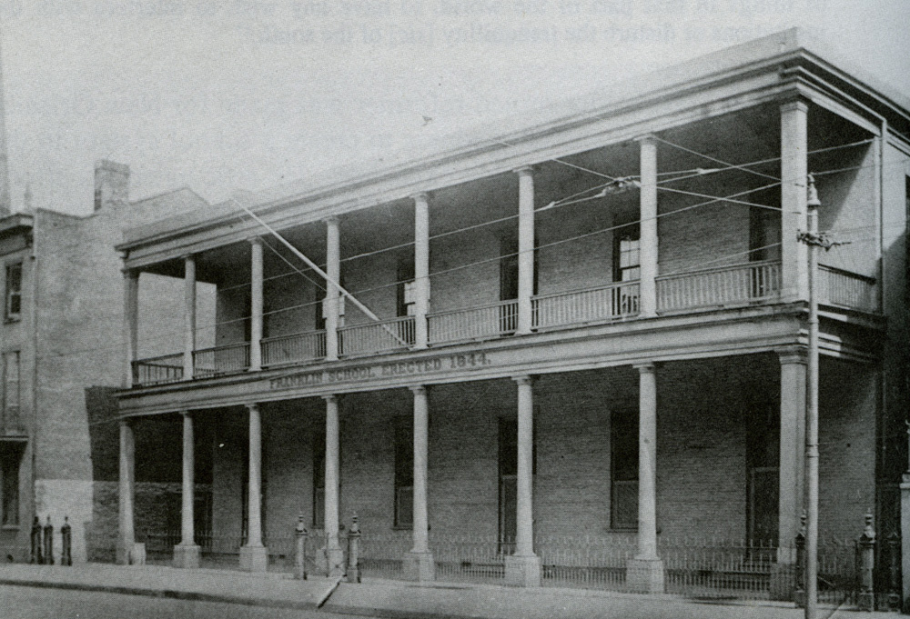 Franklin School, a Second Municipality school for girls