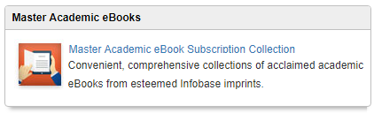 eBooks from Infobase