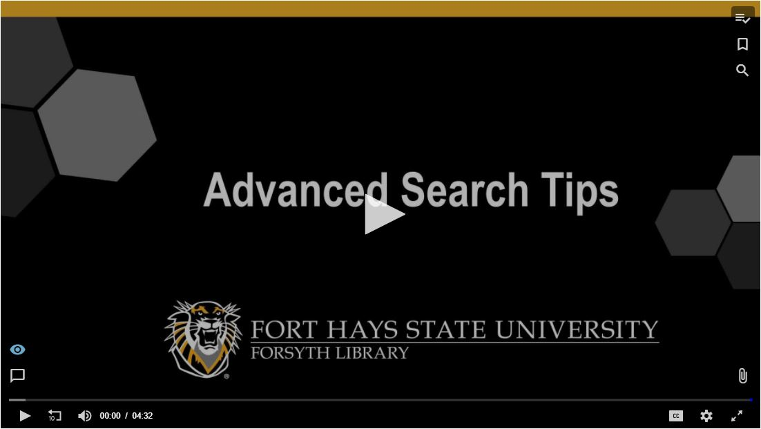 Advanced Search Tips Tutorial