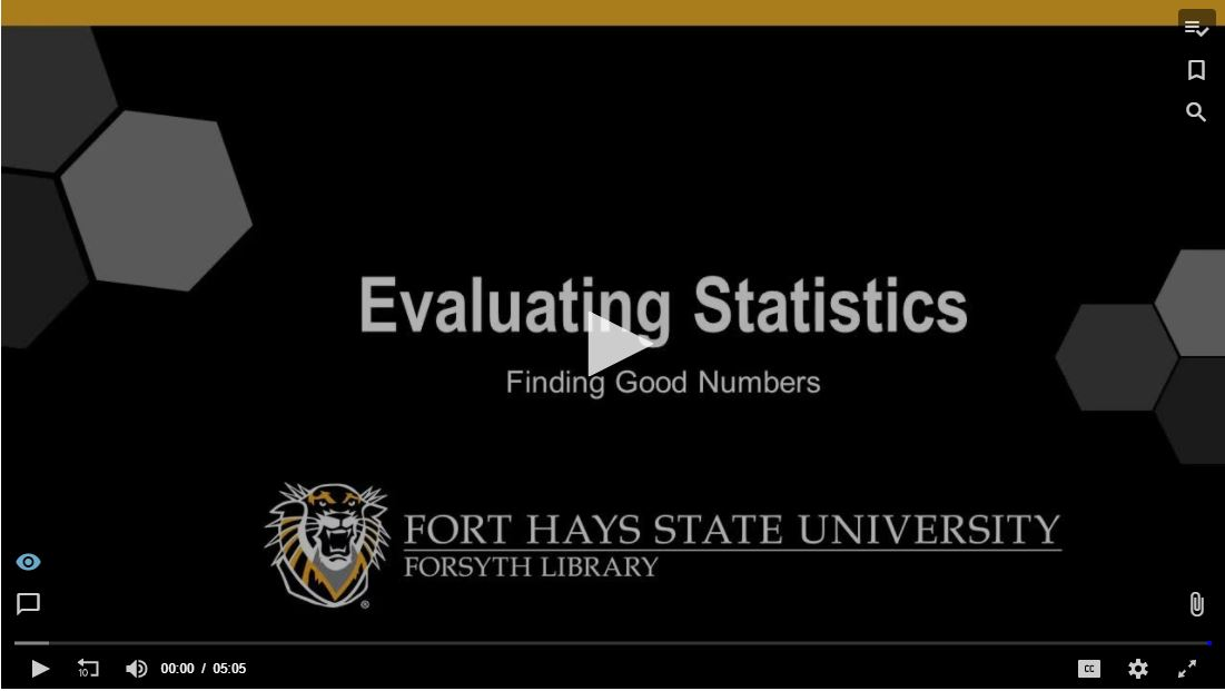 Evaluating Statistics Tutorial