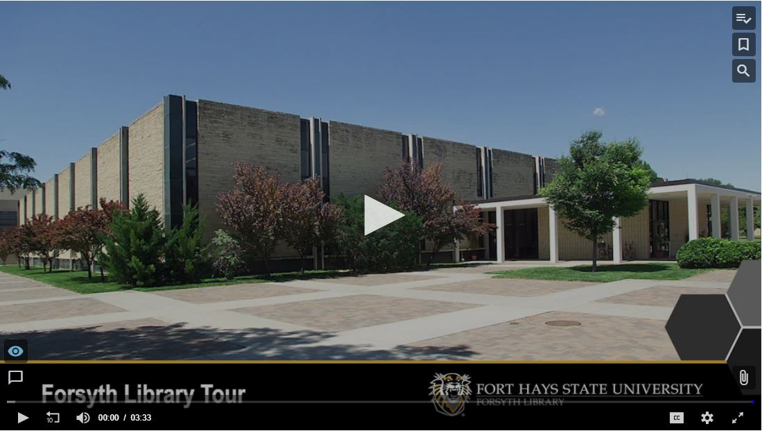 Forsyth Library Building Tour Screenshot
