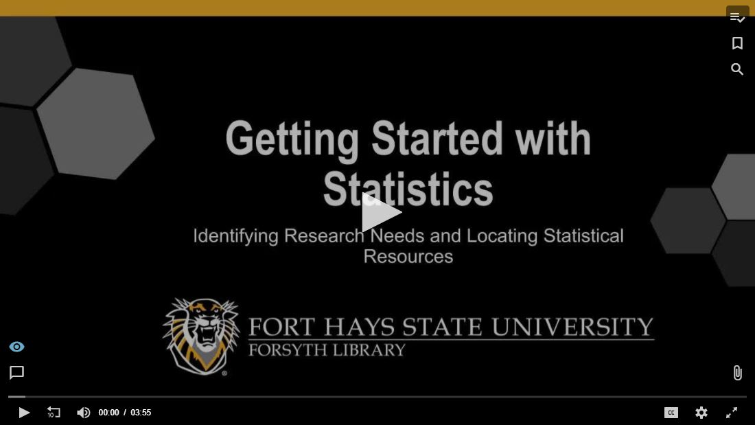 Getting Started with Statistics Tutorial