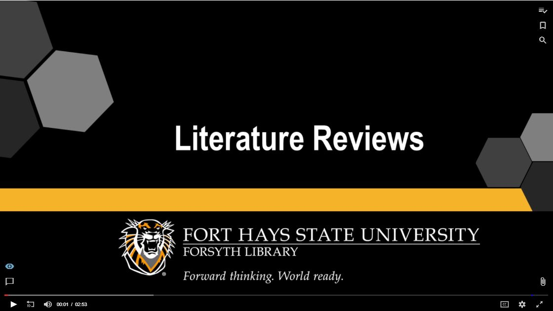 Literature Review Tutorial