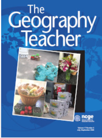 Geography Teacher journal cover