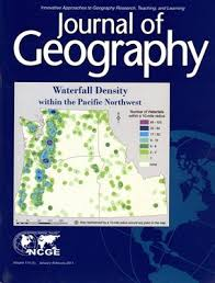 Journal of Geography journal cover