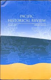 Pacific Historical Review cover