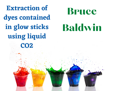 Bruce Baldwin Extraction of dyes