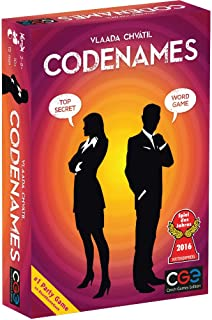 Codenames Cover Art