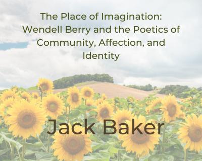 Jack Baker The Place of Imagination