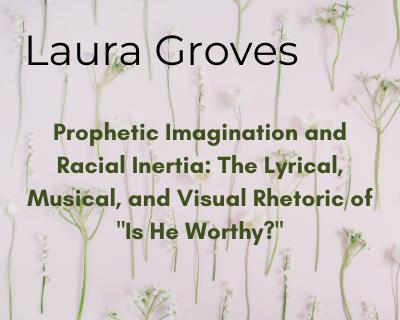 Laura Groves Prophetic Imagination and Racial Inertia