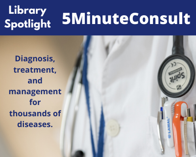 5MinuteConsult.  Fast, evidence-based diagnosis.