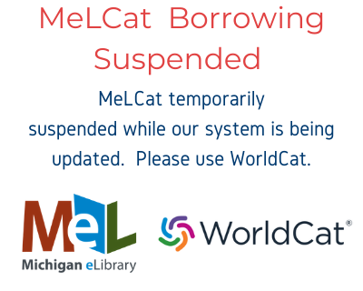 MeLCat Temporarily suspended.  Use Worldcat.