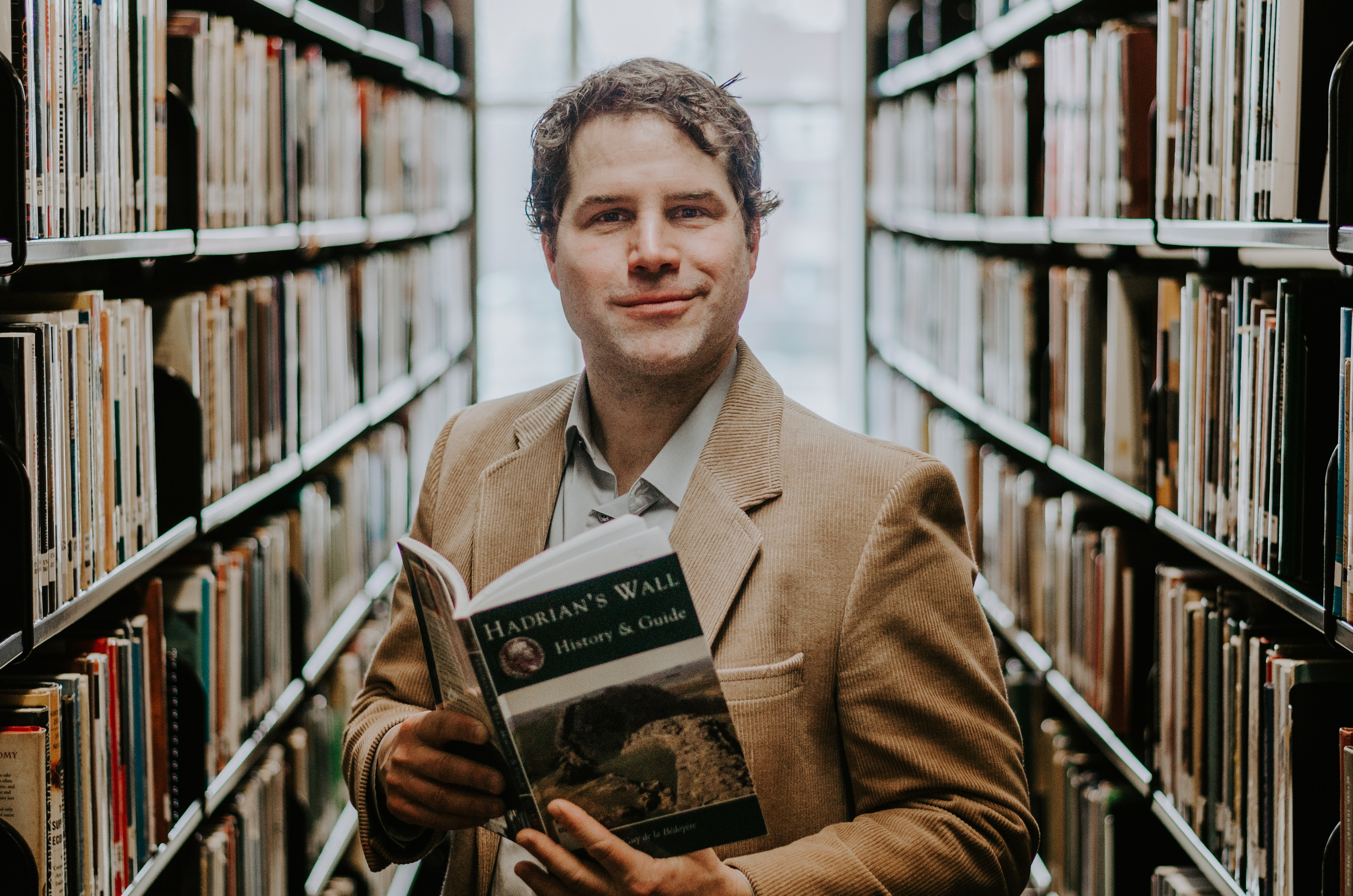 Robbie Bolton, Library Director