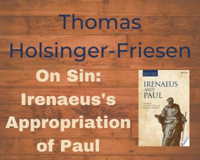 Thomas Holsinger-Friesen On Sin