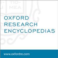 Oxford Research Encyclopedia