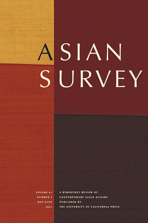 Asian Survey, University of California Press (JSTOR)