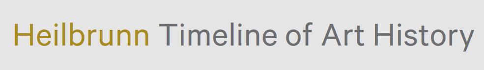 Heilbrunn Timeline of Art History