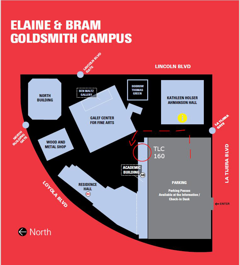 Campus Map to TLC