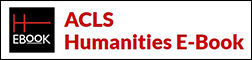 ACLS Humanities E-Books