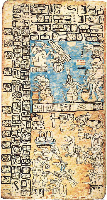 Madrid Codex, page 37