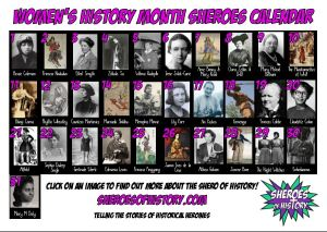 Women's History Month Interactive Calendar
