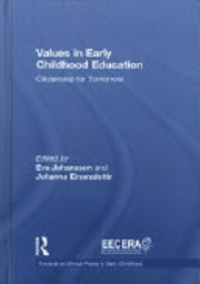 Values in early childhood education