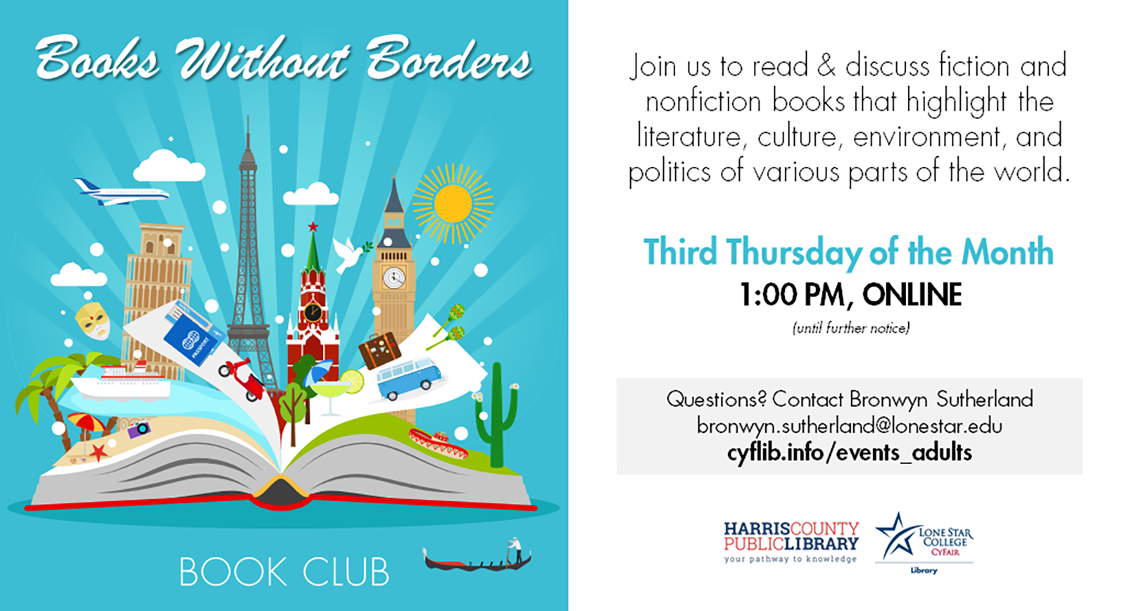 books without borders book club