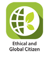 Ethical and Global Citizen icon