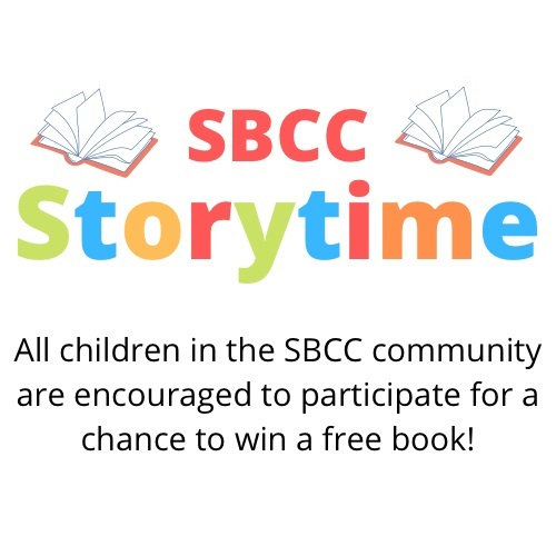 SBCC storytime: All children in the SBCC community are encouraged to participate for a chance to win a free book!