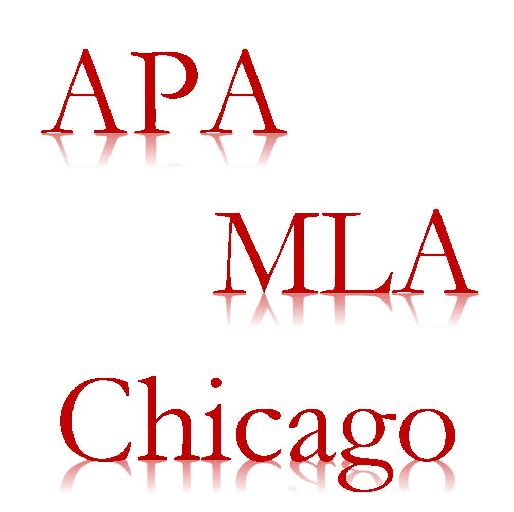 APA, MLA, and Chicago