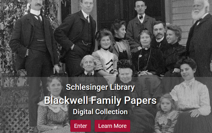 Screenshot of Blackwell Family collection