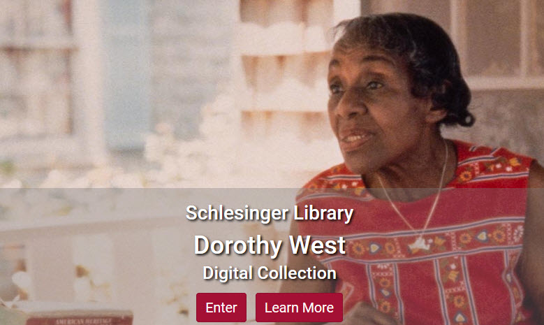 Screenshot of Dorothy West collection