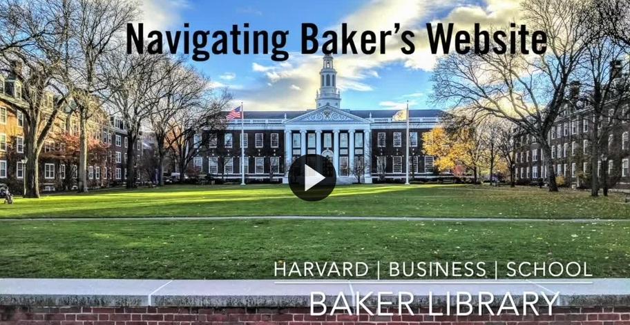 Link to Navigating Baker's Website