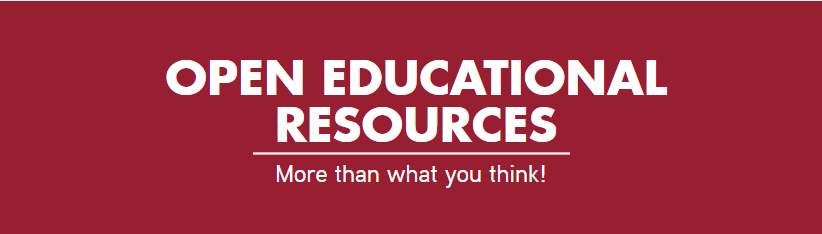 Open Educational Resources - More than what you think!
