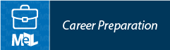 Career Preparation from LearningExpress Library  web button example