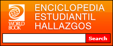 Example Enciclopedia Estudiantil Hallazgos search box