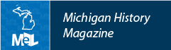 Michigan History Magazine web button example