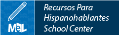 Recursos Para Hispanohablantes from LearningExpress Library web button example