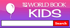 Example World Book Kids search box