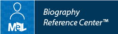 Biography Reference Center web button example