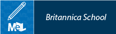 Britannica School web button example