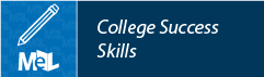 College Success Skills from Learning Express Library web button example