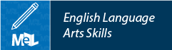 English Language Arts Skills from Learning Express Library web button example