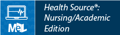 Health Source: Nursing/Academic Edition web button example