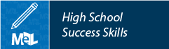 High School Success Skills from Learning Express Library web button example
